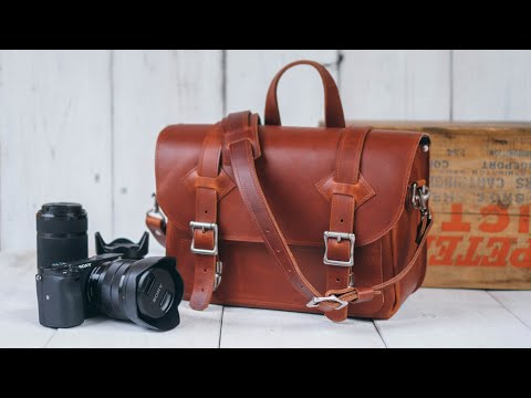 Making A Padded Leather Camera Bag - DIY