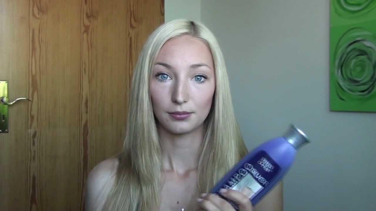Graue haare blond farben ohne gelbstich  Stilvolle frisur ...