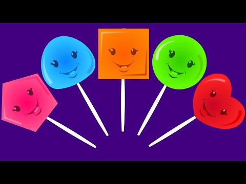 Five Little Lollipops | Nursery Rhymes For Kids And Children