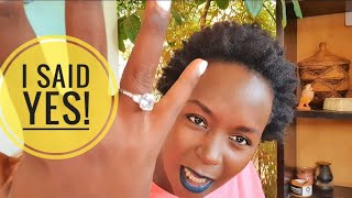 A beautiful promise 💍. Kansiime engaged!