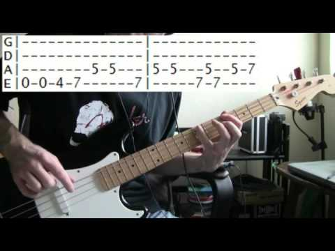 bass guitar lessons online Stevie ray vaughan crossfire tab - YouTube
