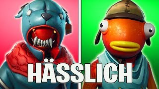 THE 10 UGLIEST FORTNITE SKINS - FORTNITE BATTLE ROYALE ENGLISH