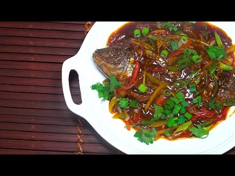 🔴 Crispy Fried Fish - Fried Fish Sweet n Spicy Sauce - Whole Fried Tilapia - Asian  Fried Fish