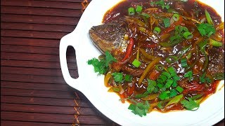 ? Crispy Fried Fish - Fried Fish Sweet n Spicy Sauce - Whole Fried Tilapia - Asian  Fried Fish