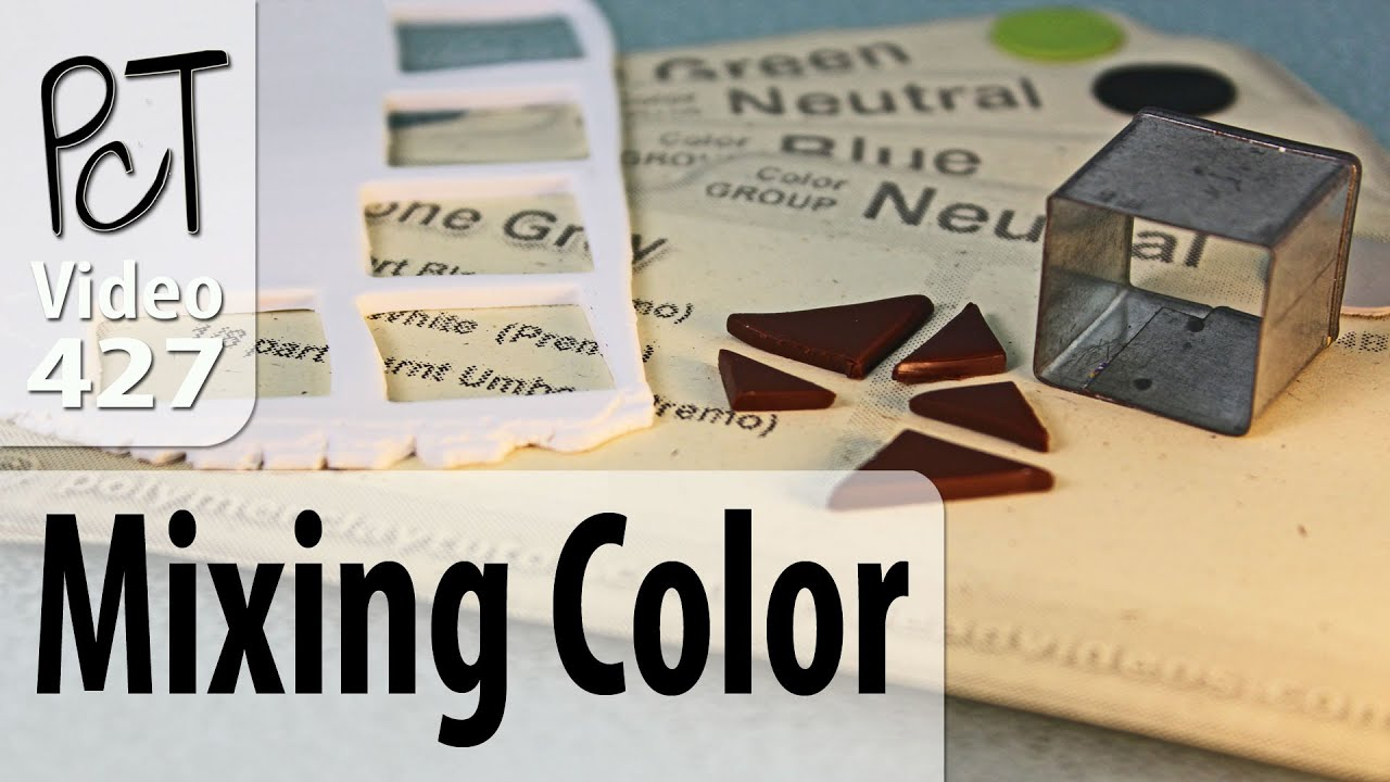 How To Mix Polymer Clay Color Recipes Youtube