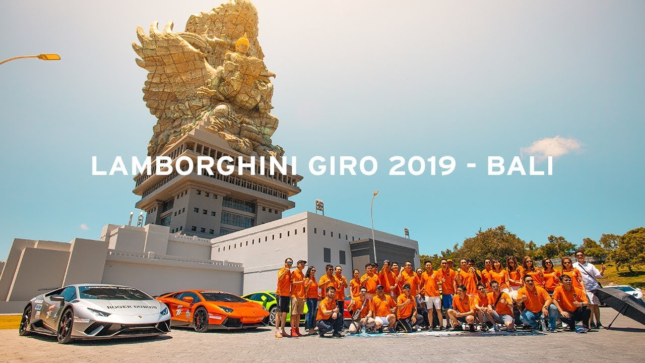 Lamborghini Bali Giro 2019