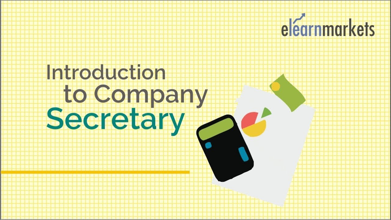 Introduction to Company Secretary Course - How to purse ...