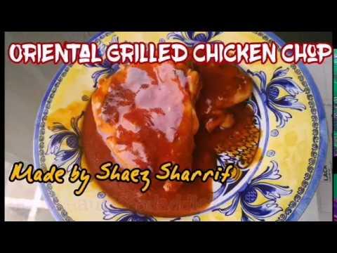 resepi-mudah-oriental-grilled-chicken-chop