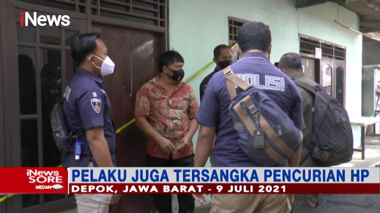 Download Polisi Bekuk Pelaku Pembunuhan Perempuan dengan Luka Sajam di Leher, Depok #iNewsSore 10/07