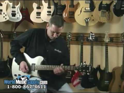 Washburn Electric Guitar WI14 Demo