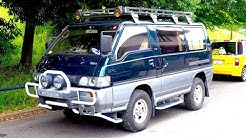 1992 Mitsubishi Delica Star Wagon Turbo Diesel 4WD (USA Import) Japan Auction Purchase Review