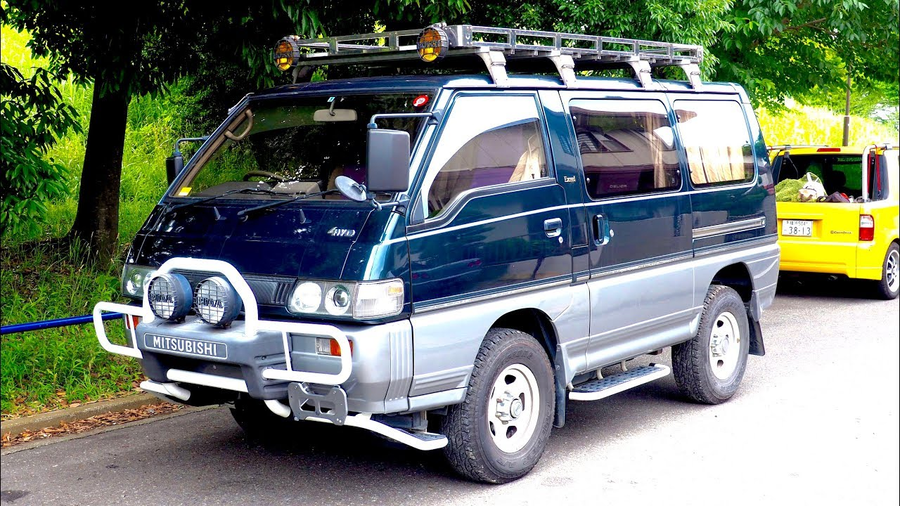 a2ce5adf03 1992 Mitsubishi Delica Star Wagon Turbo Diesel 4WD (USA Import) Japan  Auction Purchase Review