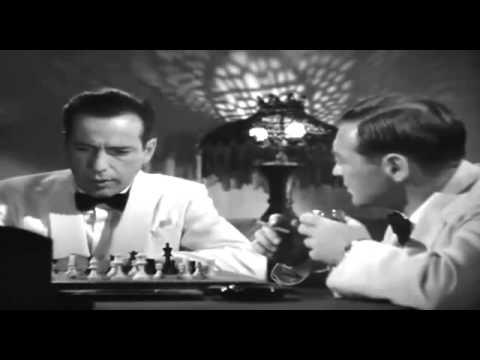 Casablanca 1942 chess