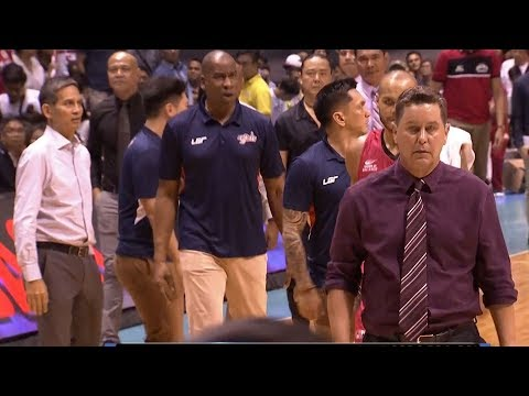 Coach Tim Cone refused to handshake   PBA Governor's Cup 2017