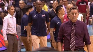 Coach Tim Cone refused to handshake | PBA Governor's Cup 2017 thumbnail
