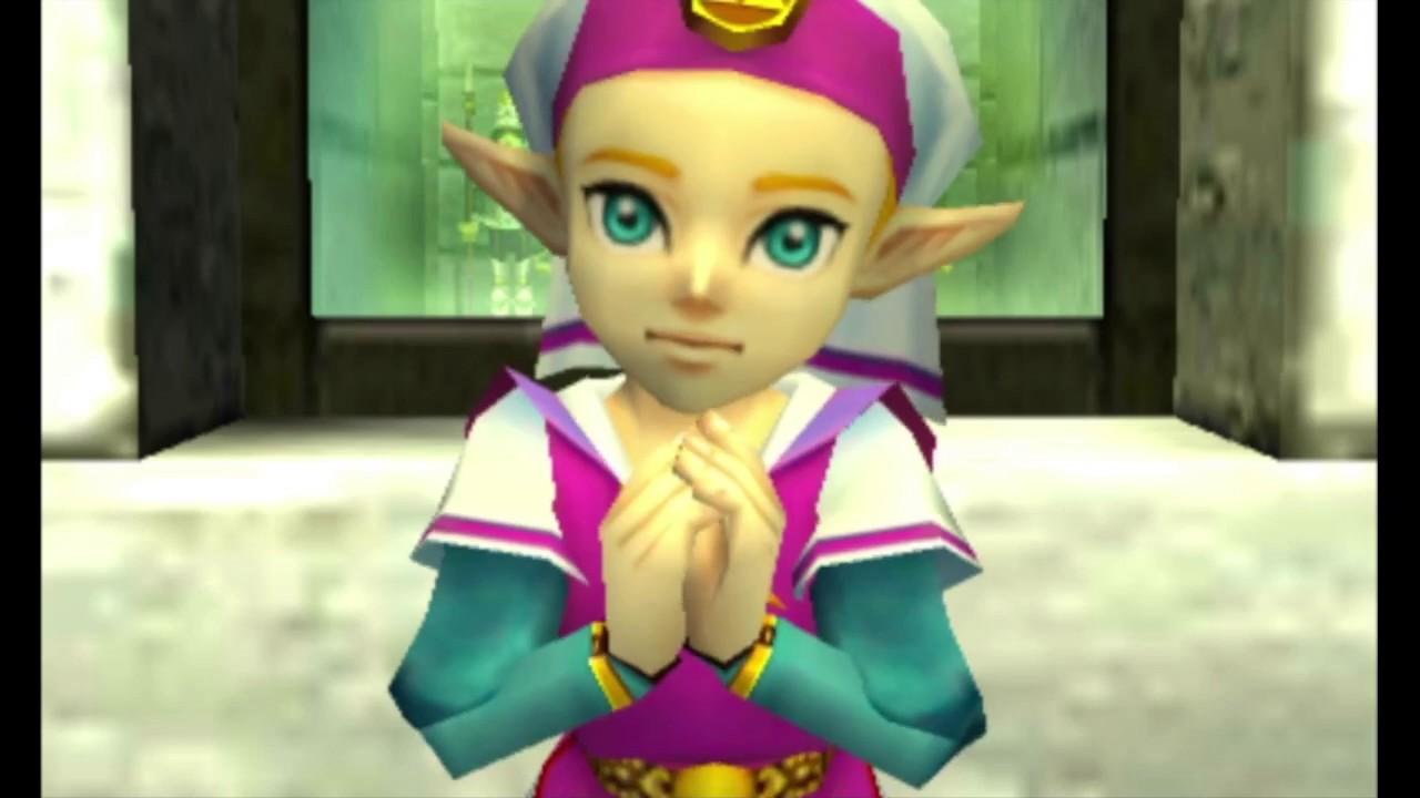 3DS《薩爾達傳說 時之笛3D》中文版故事總集 - YouTube
