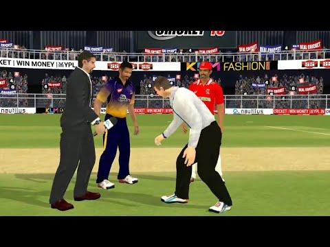21st April IPL 11 Kolkata Knight Riders Vs Kings XI Punjab Real cricket 2018 mobile Gameplay