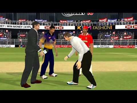 21st April IPL 11 Kolkata Knight Riders Vs Kings XI Punjab Real cricket 2018 mobile Gameplay - 동영상