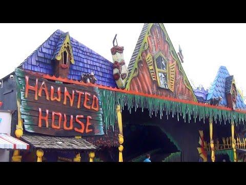 Camden Park Haunted House POV Classic Pretzel Dark Ride