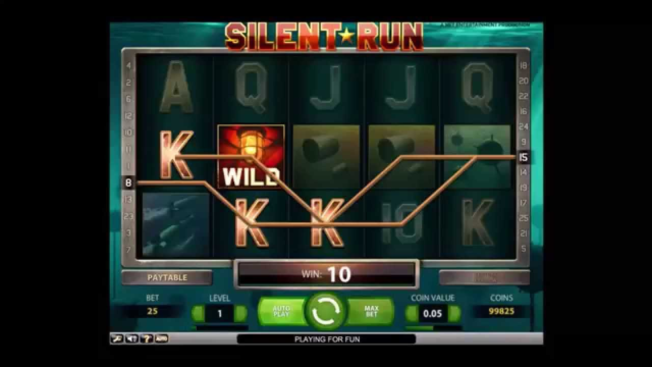 Slot silent run
