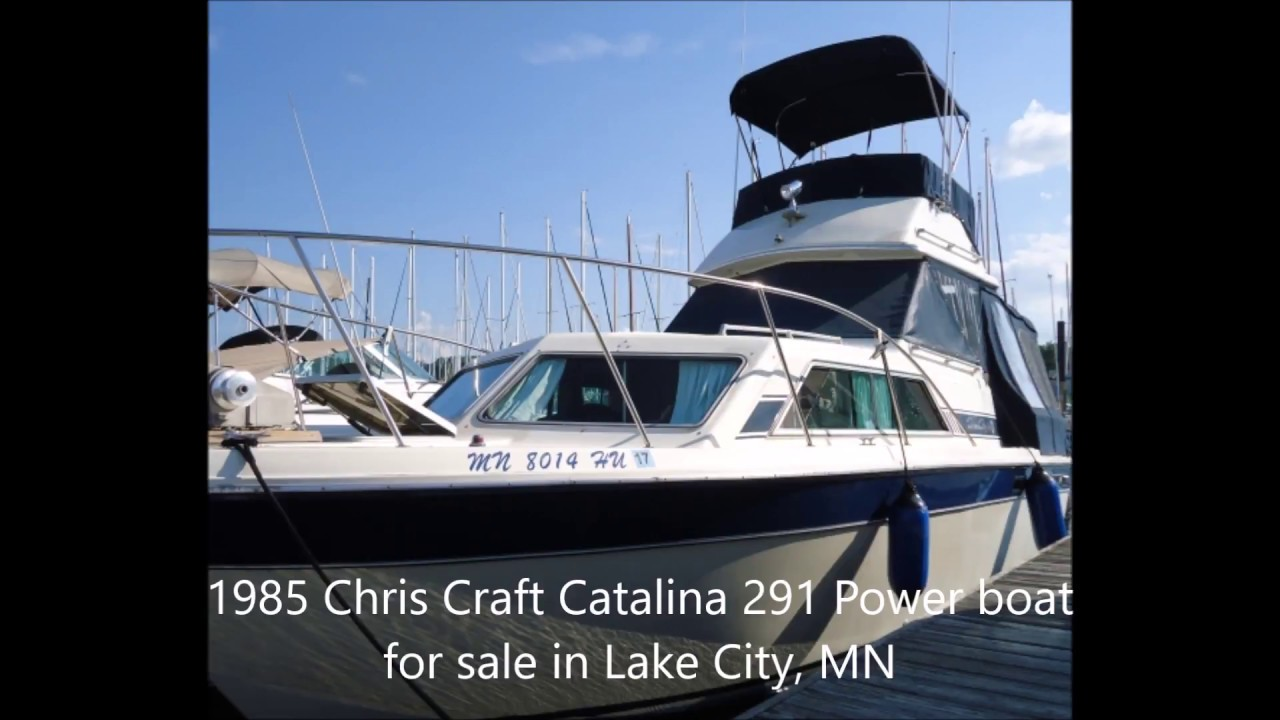 1985 Chris Craft Catalina 291 Power boat for sale in Lake City, MN  $10,000