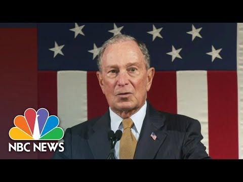 Bloomberg Qualifies For Next Democratic Debate   NBC Nightly News