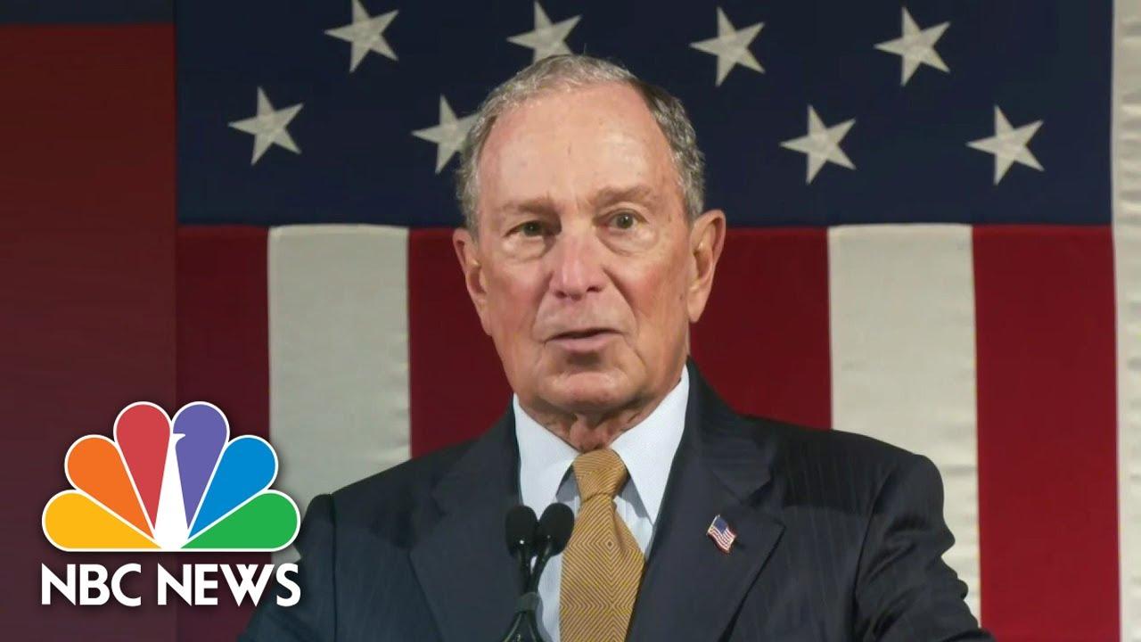 Bloomberg Qualifies For Next Democratic Debate | NBC Nightly News