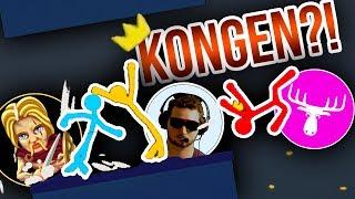 HVEM BLIVER KONGEN?! :: m. ComKean og DenMandigeElg - Dansk Stick Fight: The Game