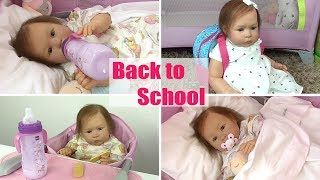Morning Routine Back to School - Bambola Reborn Toddler Matilde