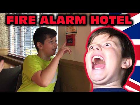 Kid Temper Tantrum Pulls The Hotel Fire Alarm In The UK! [Original]