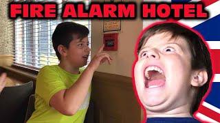 Kid Temper Tantrum Pulls The Hotel Fire Alarm In The UK! [Orig…