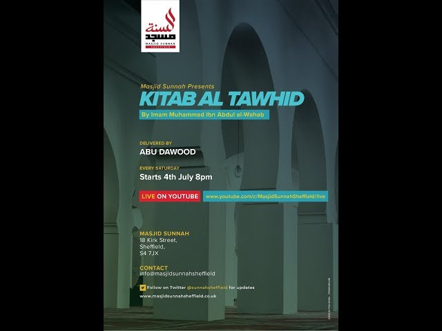 🔴LIVE: Kitab Al Tawheed: Lesson 1: The purpose of creation and the obligation of Tawheed