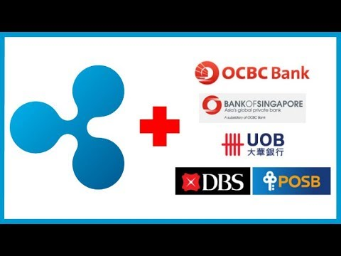 Ripple Getting Ready to Use Blockchain Technology with Singapore Banks! HODL!