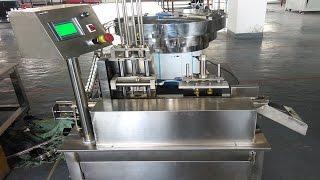 caps wadding machine single vibrator plate cap foil inserting lining bouchon machine à ouate