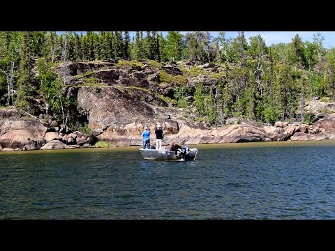 BLACKMUR'S ATHABASCA LODGE - FISHING FOR GIANTS ON AN INLAND SEA