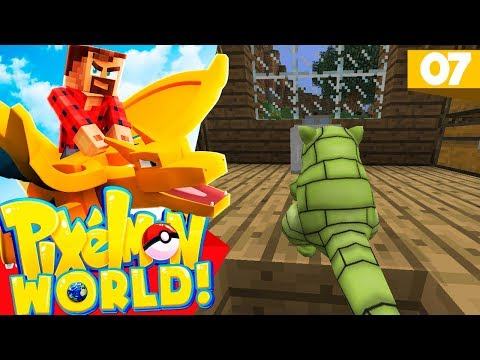 """HOW FREAKING LUCKY?"" | Minecraft Pixelmon World SMP #7"