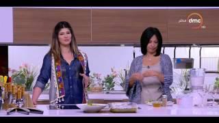 مطبخ الهوانم - طريقة عمل موز بلبن جوز الهند مع الشيف ميرفت النحاس ونهى عبد العزيز