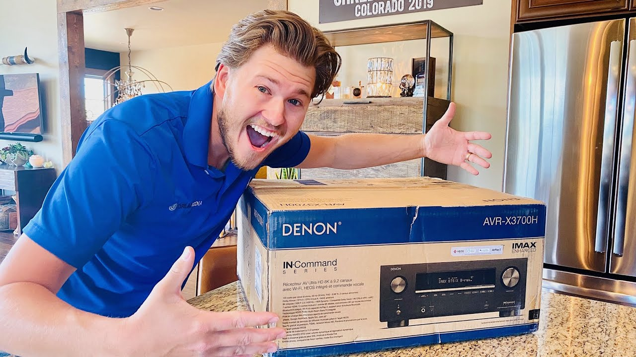 New 8K Ready AVR Denon 3700H Unboxing and Overview