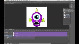 Wie Erstellen Sie ein Animiertes GIF in Photoshop CS6 Tutorial