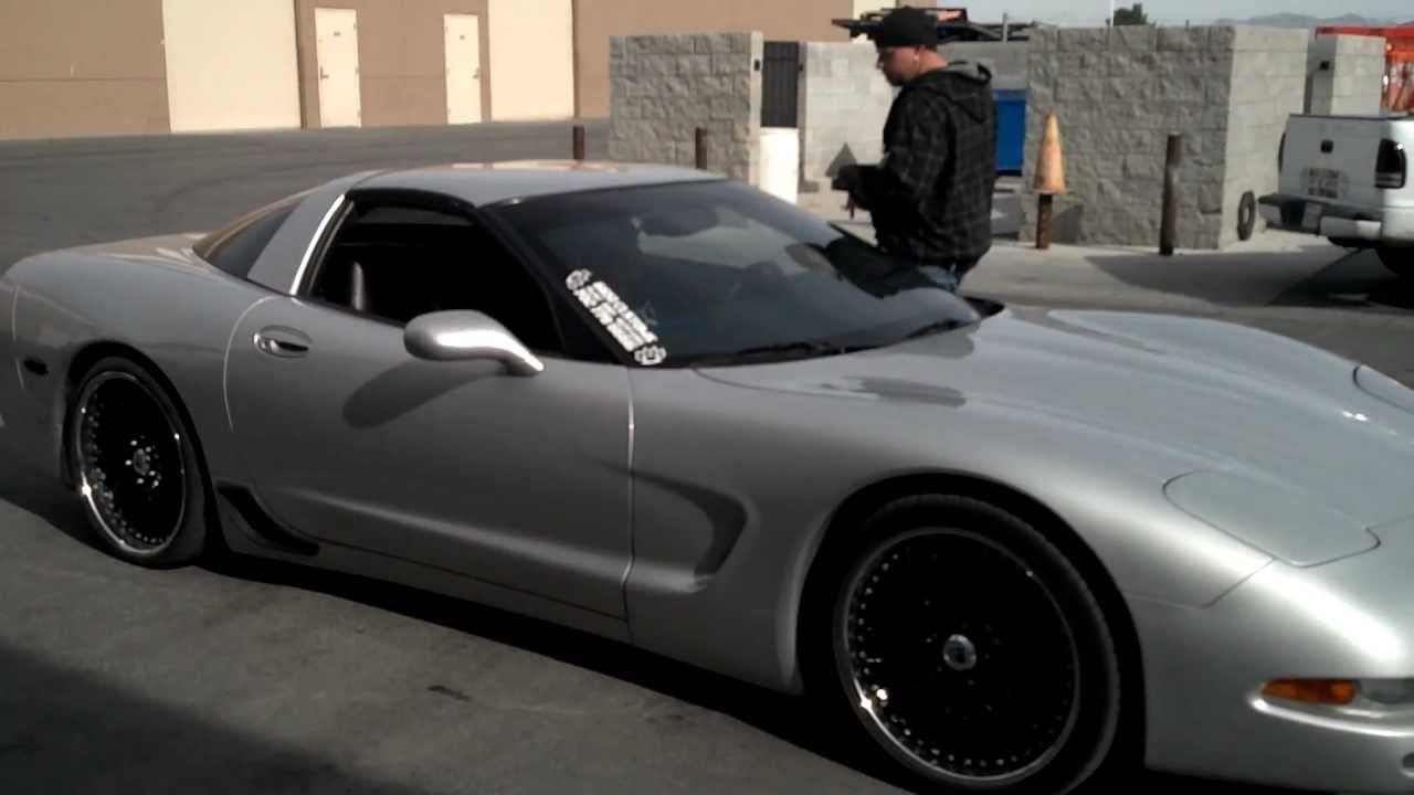 Corvette C5 For Sale >> 1997 Custom C5 Corvette for sale - YouTube