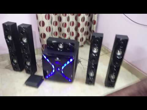 Zebronics 51 Dhoom Audio Test & informational  wwwTulipSmilecom  in HINDI