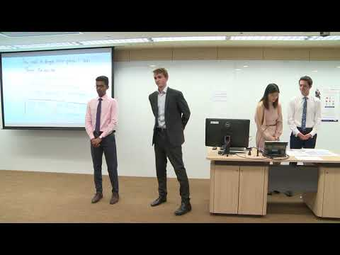 2017 Round 1 University of Auckland - HSBC/HKU Asia Pacific Business Case Competition