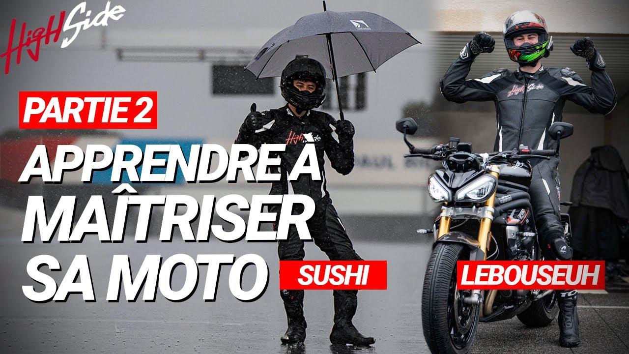 ÉMISSION - Apprendre à maîtriser sa moto (Partie 2)