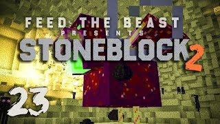 Ftb stoneblock 2 ep14 chaos chicken tome of knowledge