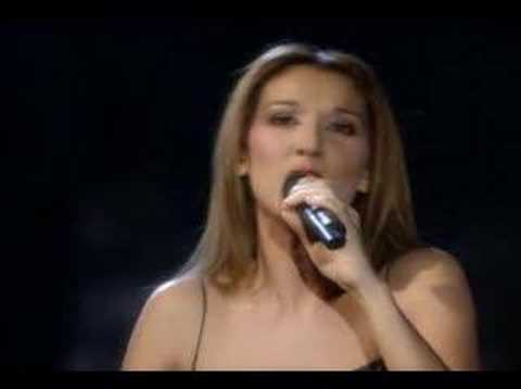 All The Way - Celine Dion And Frank Sinatra LIVE