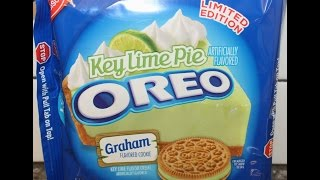 Key Lime Pie Oreo Cookie Review