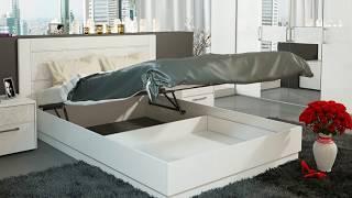 Смотреть видео Где купить Кровати для спальни недорого в Москве онлайн