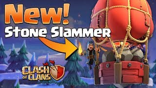 Stone Slammer! New Siege Machine EXPLAINED - Clash of Clans Update!