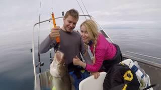 РЫБАЛКА И ПОДВОДНАЯ ОХОТА В НОРВЕГИИ.Wild Fishing Norway