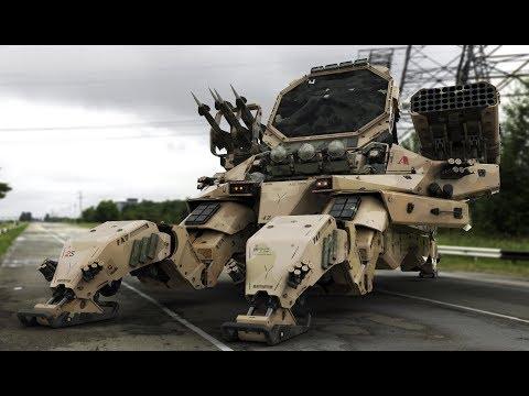 Самые Лучшие Военные Роботы в Мире